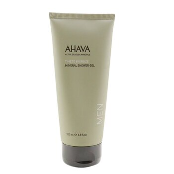 Time To Energize Mineral Shower Gel Ahava Time To Energize Mineral Shower Gel 200ml/6.8oz