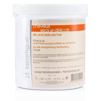 J. F. LazartigueSoy Milk Strengthening Pre-Shampoo Mask - For Dry & Delicate Hair (Salon Size) 1000ml/33.8oz