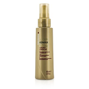 Goldwell Kerasilk Ultra Rich Keratin Care Oil (For Extremely Unmanageable and Damaged Hair)  100ml/3.4oz