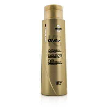 Goldwell Kerasilk Keratin Smooth Medium 2 - Long Lasting Transformation (For Hair Like Silk)  500ml/16.9oz