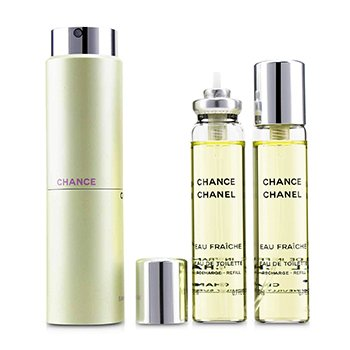 ChanelChance Eau Fraiche Twist & Spray Eau De Toilette 3x20ml/0.7oz