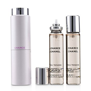 ChanelChance Eau Tendre Twist & Spray Eau De Toilette 3x20ml/0.7oz