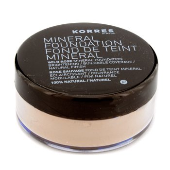 Korres Wild Rose Mineral Foundation (Powder) - # WRMF4 Medium Tan  8.5g/0.29oz