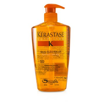 KerastaseNutritive Bain Oleo-Relax Smoothing Shampoo (Dry & Rebellious Hair) 500ml/16.9oz