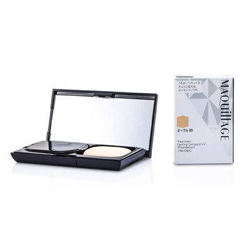 ShiseidoMaquillage Treatment Lasting Compact UV Foundation SPF24 w/ Black Case12g/0.4oz