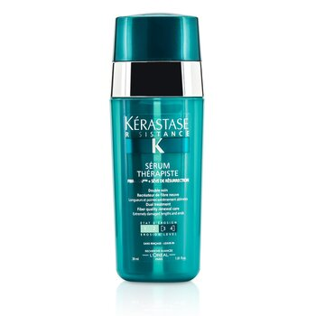 KerastaseResistance Serum Therapiste Dual Treatment Fiber Quality Renewal Care (Extremely Damaged Lengths and Ends) 30ml/1.01oz