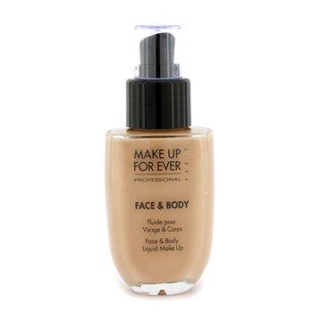 Make Up For Ever Face & Body Liquid Make Up - #1 (Soft Beige) 50ml/1.69oz