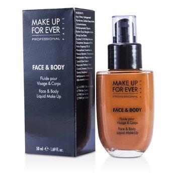 Make Up For EverMaquillaje L�quido Rostro y Cuerpo - #26 (Dark Beige) 50ml/1.69oz