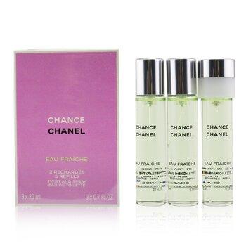 Chanel�����ی�� �ی�ی� Chance Eau Fraiche  3x20ml/0.7oz