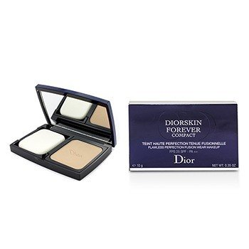 Christian Dior Diorskin Forever Compact Flawless Perfection Fusion Wear Maquillaje SPF 25 - #032 Rosy Beige  10g/0.35oz