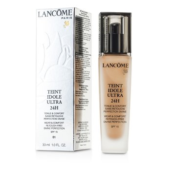 Lancome Teint Idole Base Ultra Confort & Uso de 24H SPF 15 - # 01 Beige Albatre  30ml/1oz