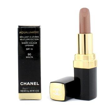 Шанель Аквалюмьер Губная Помада - &8470; 90 Мальта (Коробка Слегка...