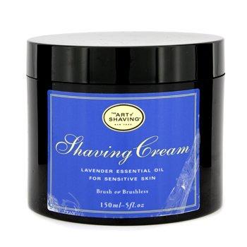The Art Of ShavingShaving Cream - Aceite Esencial Lavanda (Piel Sensible, Sin Embalaje) 150ml/5oz