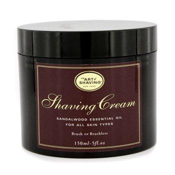 The Art Of ShavingShaving Cream - Aceite Esencial de S�ndalo (Sin Embalaje) 150ml/5oz