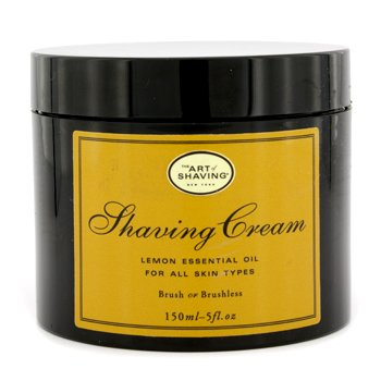 The Art Of ShavingShaving Cream - Aceite de Lim�n Esencial (Sin Embalaje) 150ml/5oz
