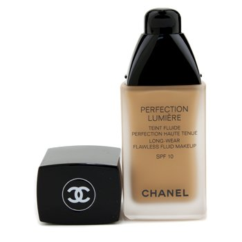Chanel Perfection Lumiere Long Wear Flawless Fluid Make Up SPF 10 - # 54 Beige Amber  30ml/1oz