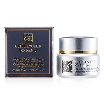 Estee LauderRe-Nutriv Ultimate Lift Antialdrende Krem for Hals og Decollectage 50ml/1.7oz