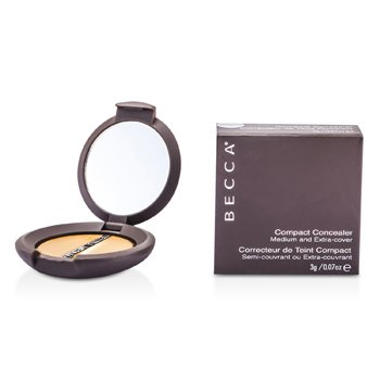 Becca Compact Concealer Medium & Extra Cover - # Cappuccino  3g/0.07oz