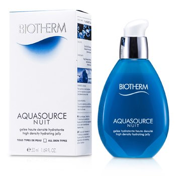 Biotherm Aquasource Nuit Gelatina Hidratante de Alta Densidad (Para Todo Tipo de Piel)  50ml/1.69oz