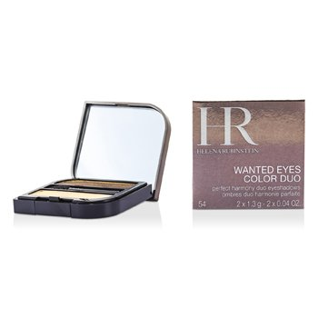 Helena Rubinstein Wanted Eyes Color Duo - No. 54 Hypnotizing Gold & Fatal Bronze make up