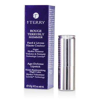 By Terry Rouge Terrybly Shimmer Age Defense Lipstick – # 804 Kiss Me Quick 3.5g/0.12oz