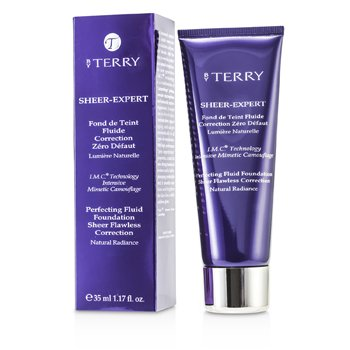 By Terry Sheer Expert Base Maquillaje Fluida Perfeccionadora - # 8 Intense Beige  35ml/1.17oz