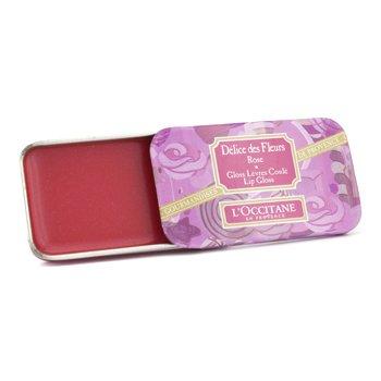 L'Occitane Delice Des Fleurs Lip Gloss - # Rose  5g/0.17oz