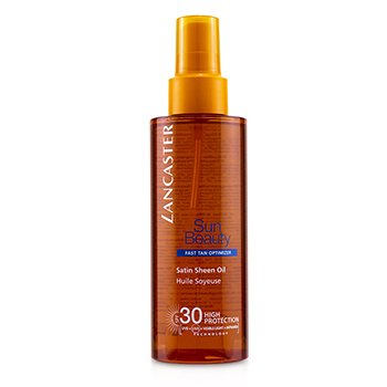 Lancaster Olejek do cia�a przyspieszaj�cy opalanie Sun Beauty Satin Sheen Oil Fast Tan Optimizer SPF 30  150ml/5oz