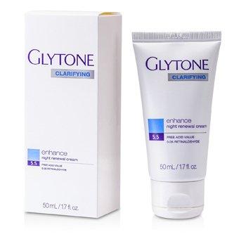 Glytone Clarifying Enhance Night Renewal Cream  50ml/1.7oz