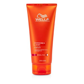 WellaEnrich Moisturizing Conditioner For Dry & Damaged Hair (Normal/ Thick) 200ml/6.7oz