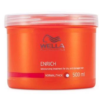 WellaEnrich Tratamiento Hidratante Cabellos Secos y Estropeados (Normal/Grueso= 500ml/16.7oz