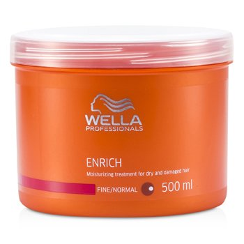 WellaEnrich Moisturizing Treatment For Dry & Damaged Hair (Fine/Normal) 500ml/16.7oz