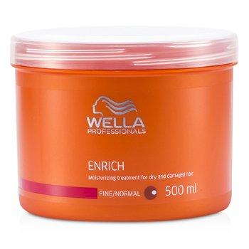 Wella Enrich Tratamiento Hidratante Cabellos Secos y Da�ados (Cabello Normal/Fino)  500ml/16.7oz