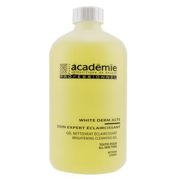 AcademieWhite Derm Acte Brightening Cleansing Gel (Salon Size) 500ml/16.9oz
