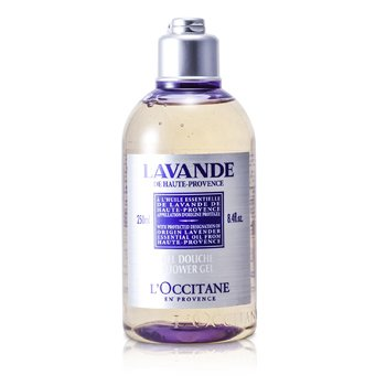 L'Occitane Lavender Harvest Gel Mandi (Kemasan Baru)  250ml/8.4oz