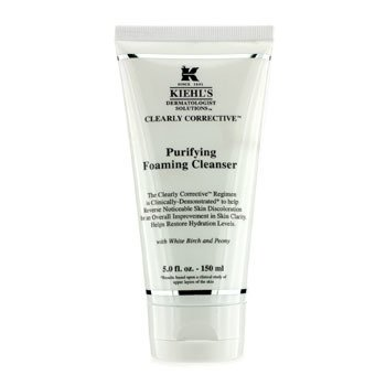 Kiehl'sClearly Corrective Purifying Foaming Cleanser -Pembersih 150ml/5oz