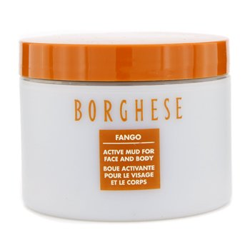BorgheseFango Active Mud Face & Body  (Plastic Jar; Unboxed) 170ml/6oz