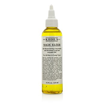 Kiehl's Magic Elixir Hair Restructuring Concentrate With Rosemary Leaf And Avocado (for alle h�rtyper og hodebunn)  125ml/4.2oz