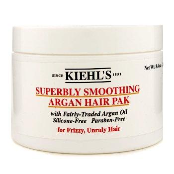 Kiehl'sSuperbly Smoothing Argan Hair Pak (For Frizzy, Uregjerlig H�r) 240g/8.4oz