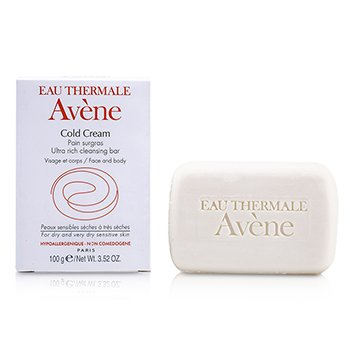 AveneCold Cream Ultra Rich Cleansing Bar (pele seca & sensivel e muito seca) 100g/3.52oz