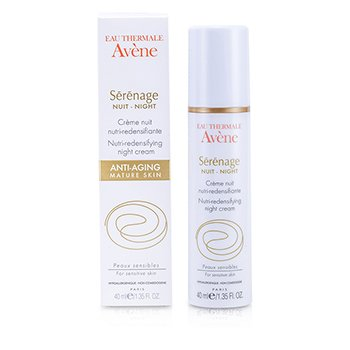 AveneSerenage Nutri-Redensifying Crema Noche 40ml/1.35oz