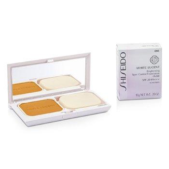 ShiseidoWhite Lucent Brightening Spot Control Alas Bedak SPF25 (Wadah + Isi Ulang) - # O60 (Ochre 30) 10g/0.35oz