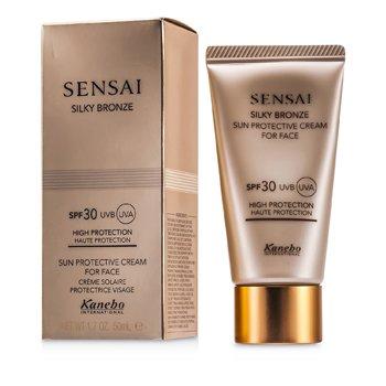 Sensai Silky Bronze Солнцезащитный Крем для Лица SPF 30 50ml/1.7oz StrawberryNET 4173.000