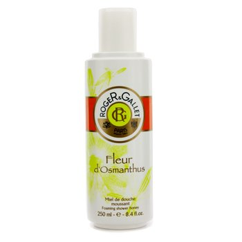 Roger & Gallet Fleur d' Osmanthus Foaming Shower Honey  250ml/8.4oz
