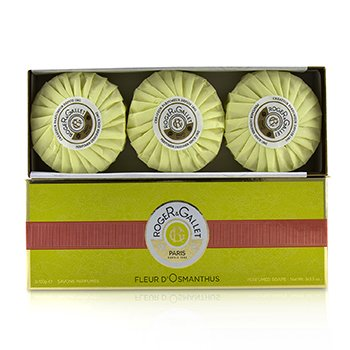 Roger & GalletFleur d' Osmanthus Perfumed Soap Coffret 3x100g/3.5oz