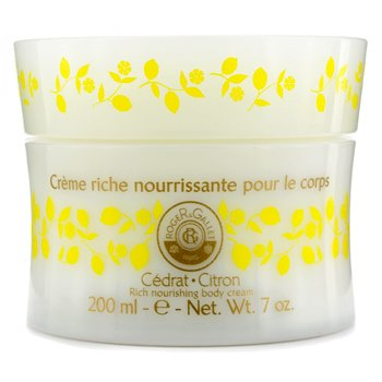 Roger & Gallet Cedrat (Citron) Rich Nourishing Body Cream  200ml/7oz