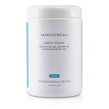 Skin Ceuticals Simply Clean Gel Limpiador Refinidor Poros (Para Piel Mixta/Grasa) (Tama�o Sal�n)    750ml/25oz