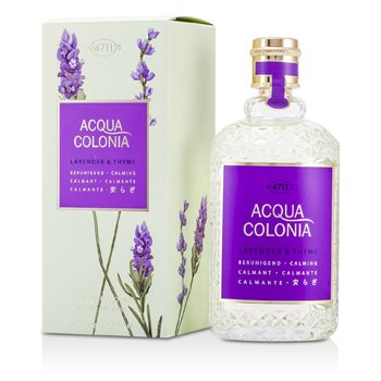 Image of 4711 Acqua Colonia Lavender & Thyme Eau De Cologne Spray 170ml/5.7oz