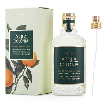 4711Acqua Colonia Blood Orange & Basil Eau De Cologne Vaporizador 170ml/5.7oz