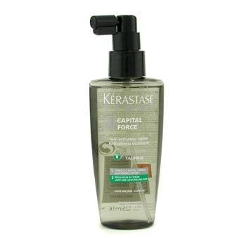 KerastaseHomme Capital Force Anti-Oiliness Tratamiento sin Enjuague ( Para Sentir el Pelo Ligero y Limpio ) 125ml/4.2oz